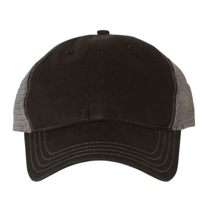 Garment Washed Trucker Cap Thumbnail