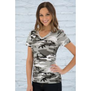 ATC EUROSPUN RING SPUN V-NECK LADIES TEE Thumbnail