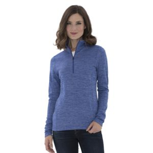 ATC DYNAMIC HEATHER FLEECE 1/2 ZIP LADIES' SWEATSHIRT Thumbnail