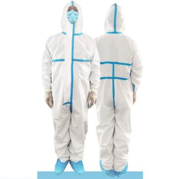 COVERALLS PROTECTIVE SUIT* Thumbnail